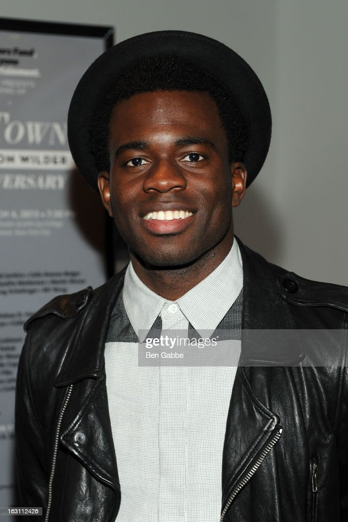 Actor Ade Otukoya attends 'Our Town' Benefit Performance at the Gerald W. Lynch Theatre on March 4, 2013 in New York City.