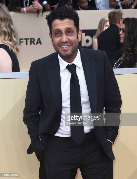Actor Adeel Akhtar attends the 24th Annual Screen ActorsGuild Awards at The Shrine Auditorium on January 21 2018 in Los Angeles California