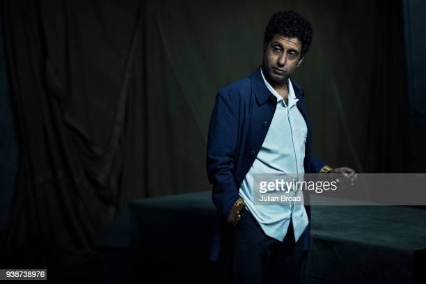 Actor Adeel Akhtar is photographed for the Observer on April 12 2017 in London England