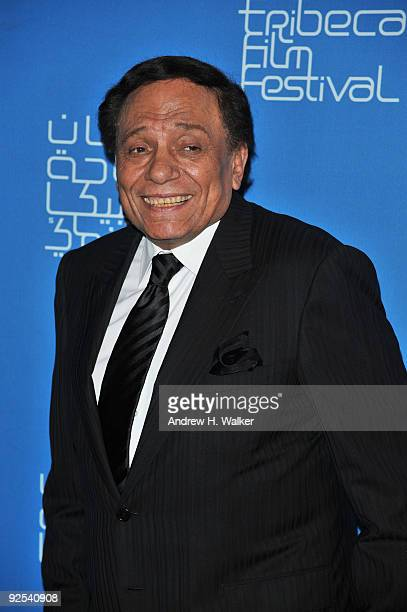 Actor Adel Emam attends the opening night film Amelia at the Museum of Islamic Art during the 2009 Doha Tribeca Film Festival on October 29 2009 in...