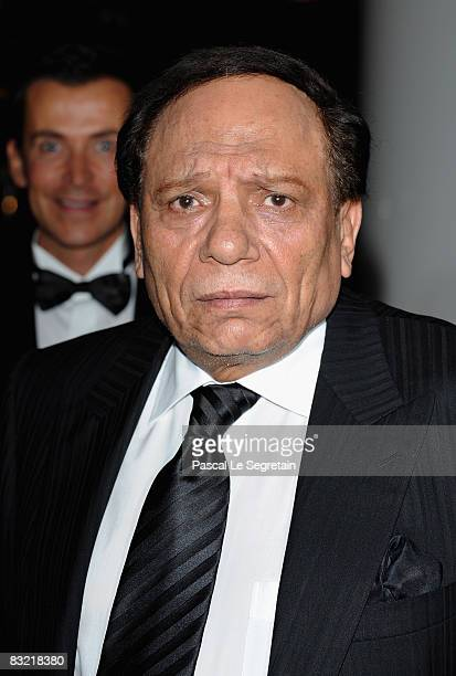 Actor Adel Imam attends the opening night of the Cinema Verite on October 10 2008 in Geneva Switzerland