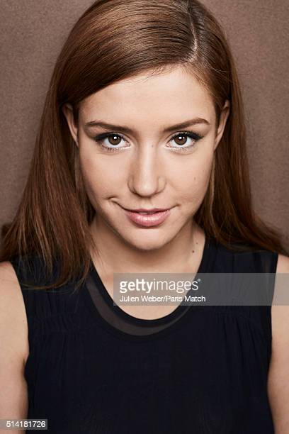 Actor Adele Exarchopoulos is photographed for Paris Match on February 16 2016 in Paris France