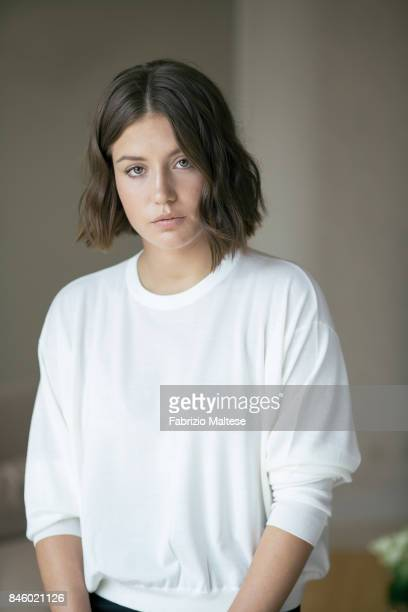 Actor Adele Exarchopoulos is photographed on September 7 2017 in Venice Italy