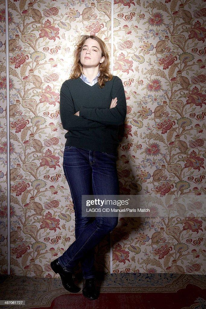 Adele Haenel, Paris Match Issue 3369, December 11, 2013 : News Photo