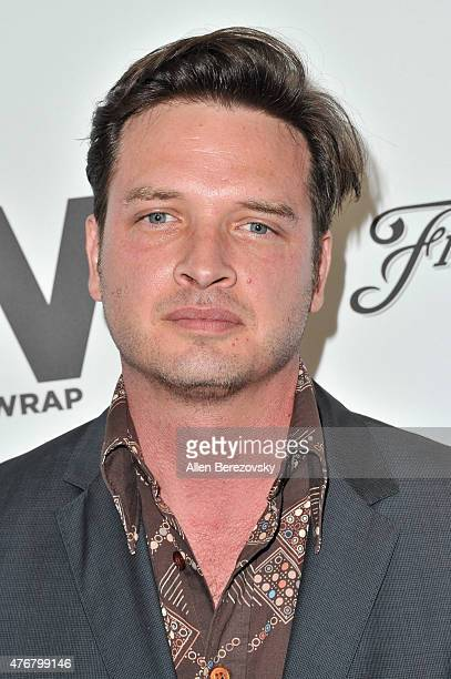 Actor Aden Young arrives at TheWrap's 2nd Annual Emmy Party at The London Hotel on June 11 2015 in West Hollywood California