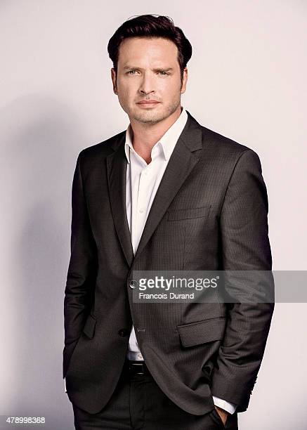 Actor Aden Young poses for a portrait at the 55th Monte Carlo TV Festival at the Fairmont MonteCarlo on June 16 2015 in MonteCarlo Monaco