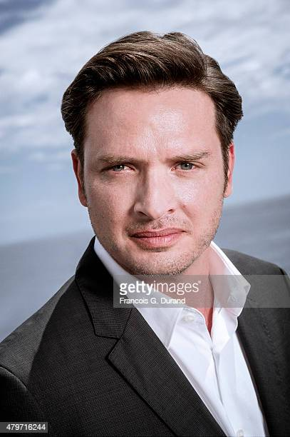Actor Aden Young poses for a portrait at the 55th Monte Carlo TV Festival at the Fairmont MonteCarlo on June 15 2015 in MonteCarlo Monaco