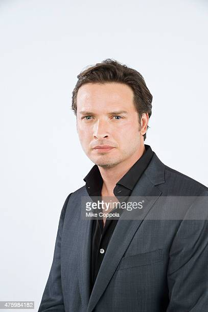 Actor Aden Young poses for a portrait at The 74th Annual Peabody Awards Ceremony at Cipriani Wall Street on May 31 2015 in New York City