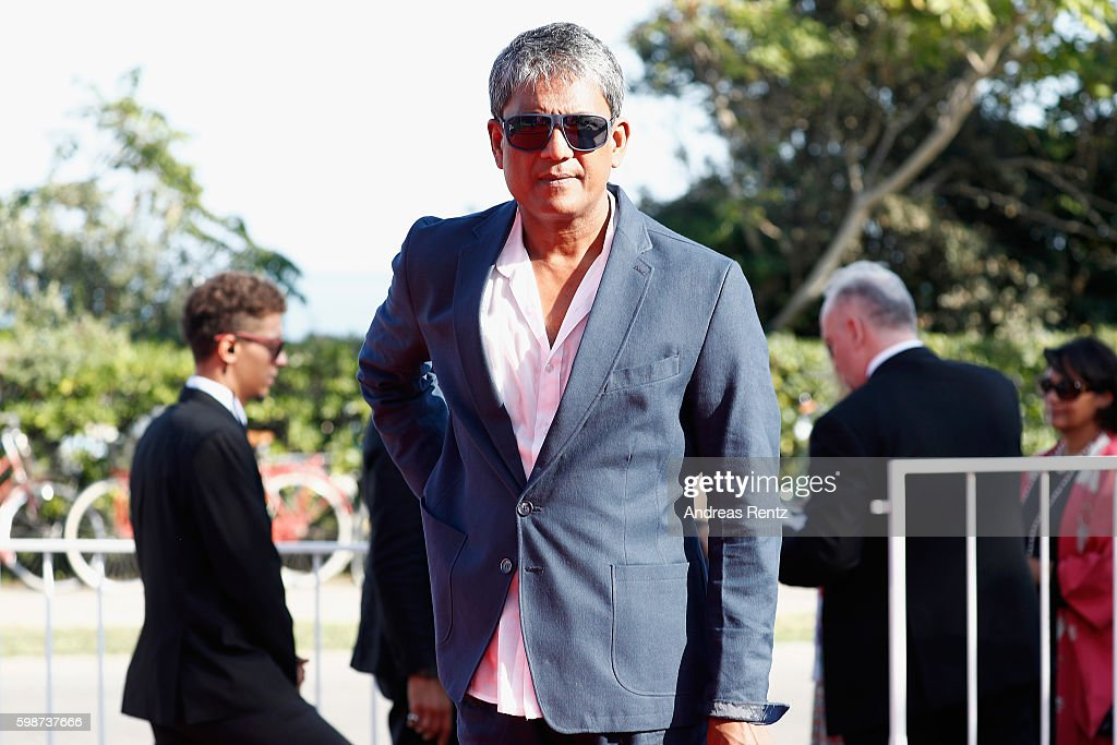 Actor Adil Hussain attends the premiere of 'Hotel Salvation' Premiere during the 73rd Venice Film Festival at Sala Giardino on September 2, 2016 in Venice, Italy.