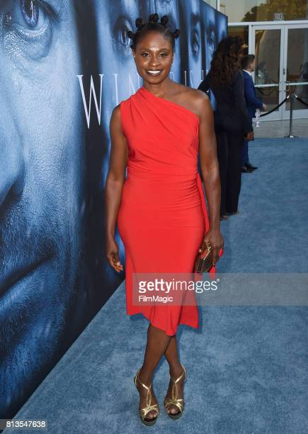 Actor Adina Porter at the Los Angeles Premiere for the seventh season of HBO's 'Game Of Thrones' at Walt Disney Concert Hall on July 12 2017 in Los...