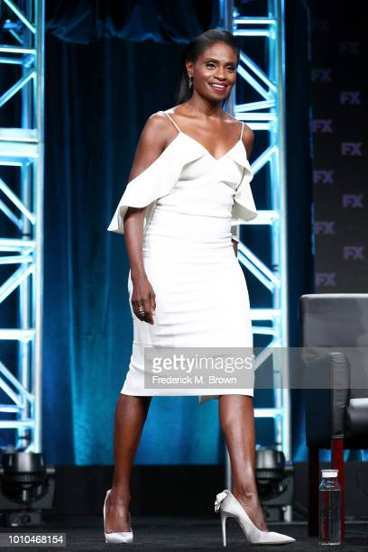 Actor Adina Porter speaks onstage at the 'American Horror Story Apocalypse' panel during the FX Network portion of the Summer 2018 TCA Press Tour at...