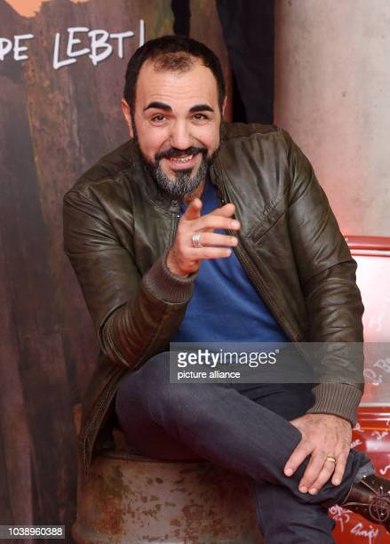 Actor Adnan Maral arrives for the premier of 'Die Wilden Kerledie Legende lebt' in Munich Germany 31 January 2016 The film will come to German...