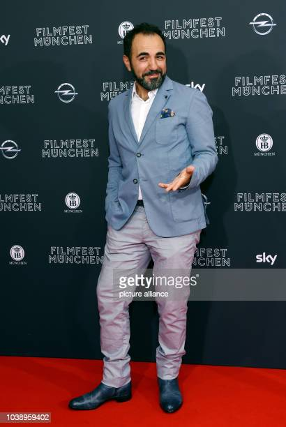Actor Adnan Maral arrives for the screening of the film 'Toni Erdemann' during the opening of the Munich film festival in Munich Germany 23 June 2016...