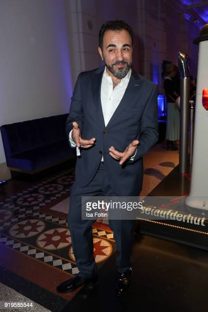 Actor Adnan Maral attends the Blue Hour Reception hosted by ARD during the 68th Berlinale International Film Festival Berlin on February 16 2018 in...