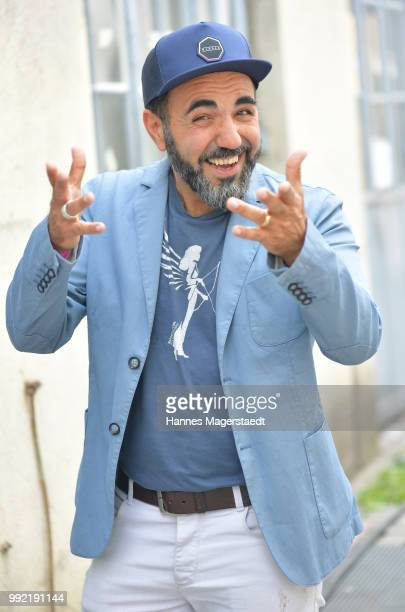 Actor Adnan Maral attends the FFF reception during the Munich Film Festival 2018 at Praterinsel on July 5 2018 in Munich Germany