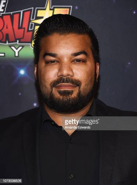 Actor Adrian Dev arrives at Funimation Films' Premiere of 'Dragon Ball Super Broly' at the TCL Chinese Theatre on December 13 2018 in Hollywood...