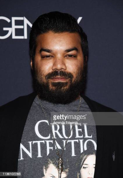 Actor Adrian Dev arrives at the GENLUX Issue Release Party hosted by Kristin Cavallari and Carly Steel on March 15 2019 in Beverly Hills California