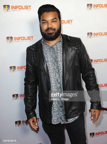 Actor Adrian Dev arrives for the INFOListcom PreEmmy Soiree held at SkyBar at the Mondrian Los Angeles on September 12 2018 in West Hollywood...