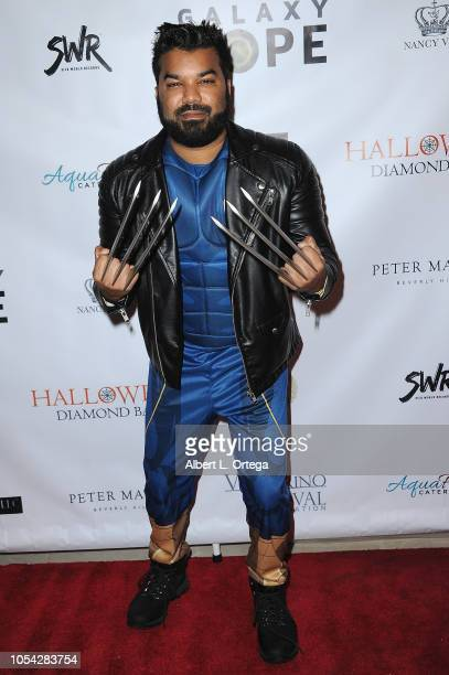Actor Adrian Dev attends Casazul Tequila Presents The Haunted House Of Bel Air held at a Private Residence on October 26 2018 in Bel Air California