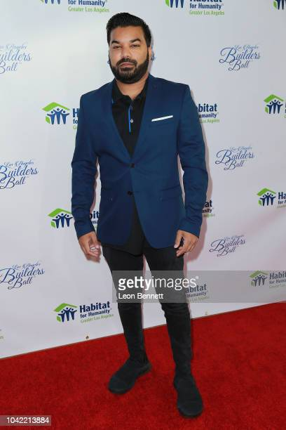 Actor Adrian Dev attends Habitat For Humanity Of Greater Los Angeles' 2018 Los Angeles Builders Ball at The Beverly Hilton Hotel on September 27 2018...