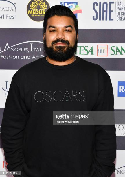 Actor Adrian Dev attends the 14th Annual Los Angeles Italia Film Fashion and Art Fest Closing Night Gala at TCL Chinese 6 Theatres on February 22...
