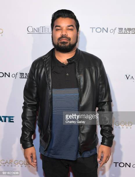 Actor Adrian Dev attends the Lionsgate Release Party for Doomsday Device and Mindblown on March 12 2018 in Los Angeles California