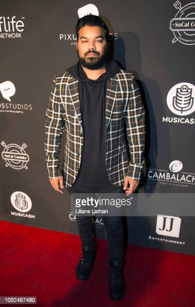 Actor Adrian Dev attends the Official MUSICA$H Launch Party at Avalon on October 17 2018 in Hollywood California