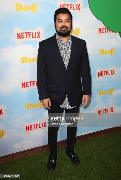Actor Adrian Dev attends the premiere of Netflix's 'Benji' at NeueHouse Hollywood on March 11 2018 in Los Angeles California