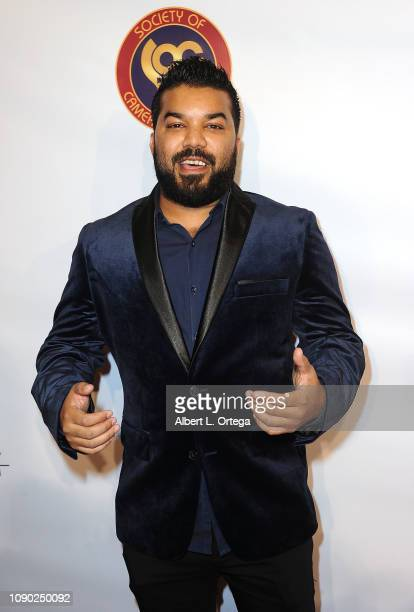 Actor Adrian Dev attends The Society Of Camera Operators 40th Annual Lifetime Achievement Awards held at Loews Hollywood Hotel on January 26 2019 in...