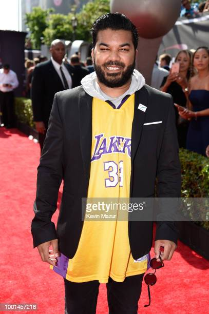 Actor Adrian Dev attends the The 2018 ESPYS at Microsoft Theater on July 18 2018 in Los Angeles California