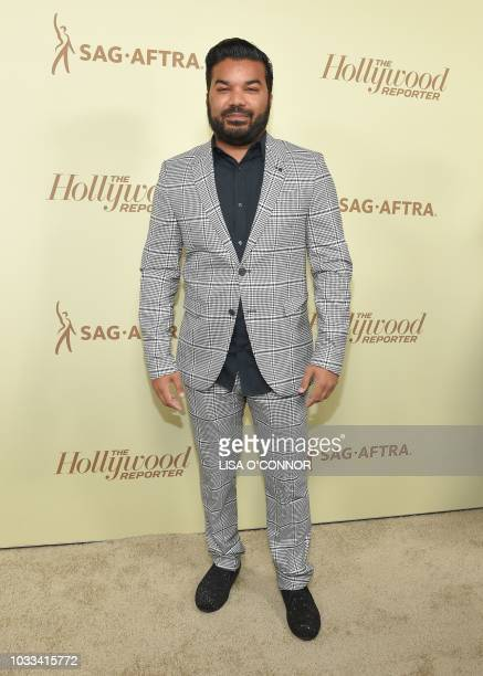 US actor Adrian Dev attends the The Hollywood Reporter SAG 2018 Emmy Nominee Night in Los Angeles California on September 14 2018