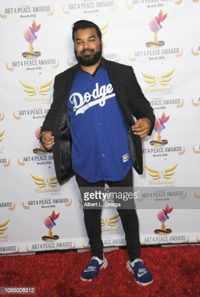 Actor Adrian Dev of HBO's 'Westworld' attends the 3rd Annual Art 4 Peace Awards 2018 held at Saban Theatre on October 28 2018 in Beverly Hills...