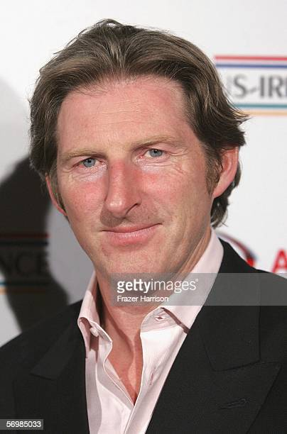 Actor Adrian Dunbar arrives at the USIreland Alliance 'Oscar Wilde Honoring Irish Writing in Film event held at the Ebell Club of Los angeles on...