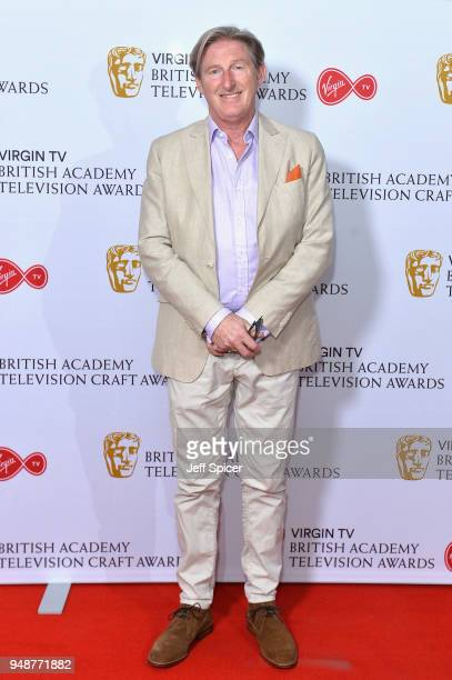 Actor Adrian Dunbar attends the Virgin TV BAFTA nominees' party at Mondrian London on April 19 2018 in London England