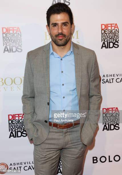 Actor Adrian Gonzalez attends the DIVERSITY x DESIGN charity event at Helms Design Center on August 25 2018 in Culver City California