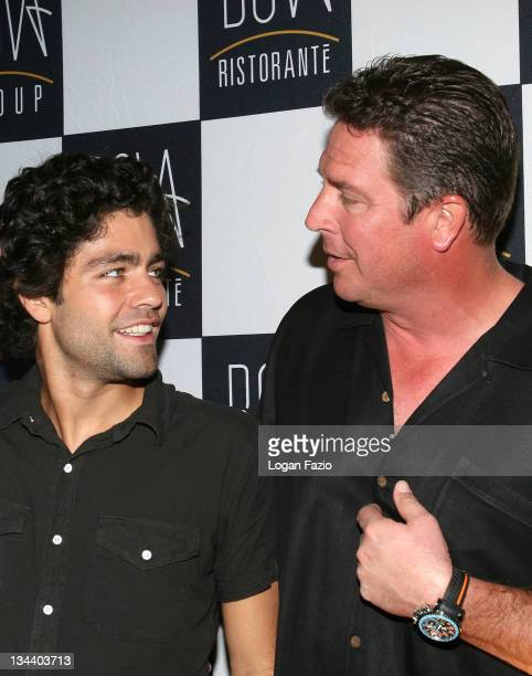 Actor Adrian Grenier and football legend Dan Marino are sighted on January 13 2009 in Fort Lauderdale Florida