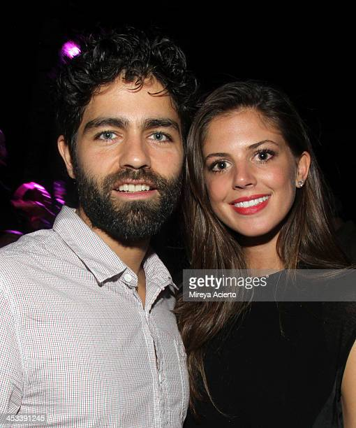 Actor Adrian Grenier and guest at the Tracey Emin party hosted by Nick Jones Jay Jopling Rachel Lehmann and David Maupin at Soho Beach House on...