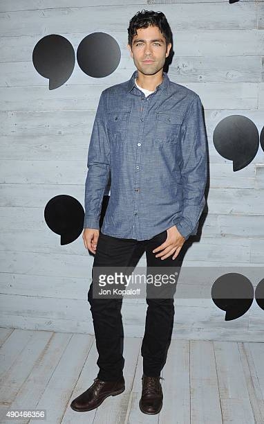 Actor Adrian Grenier arrives at go90 Sneak Peek at Wallis Annenberg Center for the Performing Arts on September 24 2015 in Beverly Hills California