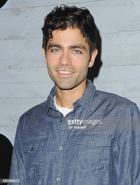 Actor Adrian Grenier arrives at go90 Sneak Peek at Wallis Annenberg Center for the Performing Arts on September 24, 2015 in Beverly Hills, California.