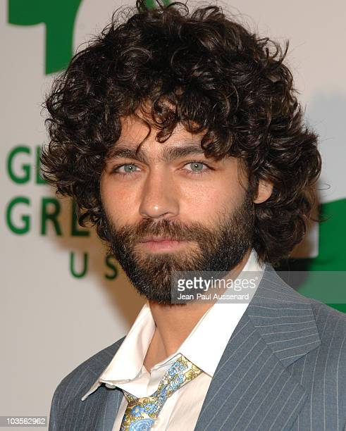 Actor Adrian Grenier arrives at the Global Green USA 5th preOscar Party held at Avalon on February 20 2008 in Hollywood California