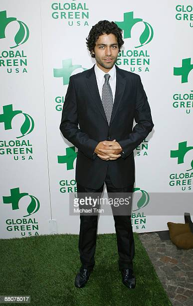Actor Adrian Grenier arrives to the Global Green USA's 13th Annual Millennium Awards held at the Fairmont Miramar Hotel on May 30 2009 in Santa...