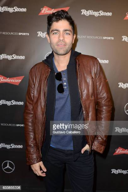 Actor Adrian Grenier at the Rolling Stone Live Houston presented by Budweiser and MercedesBenz on February 4 2017 in Houston Texas Produced in...