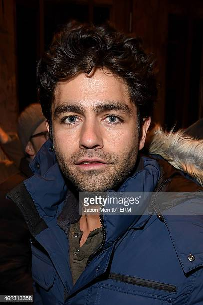 Actor Adrian Grenier attends 2015 CAA Sundance party presented by Canada Goose in partnership with Ketel One Vodka on January 25 2015 in Park City...