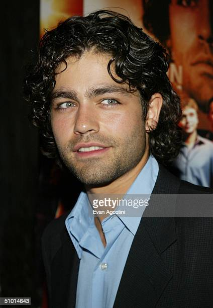 Actor Adrian Grenier attends a premiere screening of HBO's new series Entourage at the Loews EWalk Theater June 30 2004 in New York City