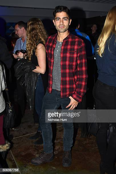 Actor Adrian Grenier attends A Response To Our Oceans Reception Celebrating The Launch Of The Lonely Whale Foundation at Blue Door on January 22 2016...