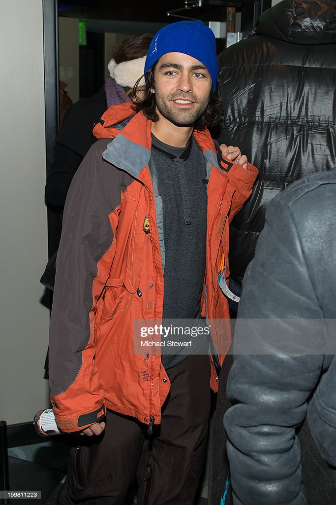 Actor Adrian Grenier attends Paige Hospitality Game Watch at Sky Bar on January 20, 2013 in Park City, Utah.