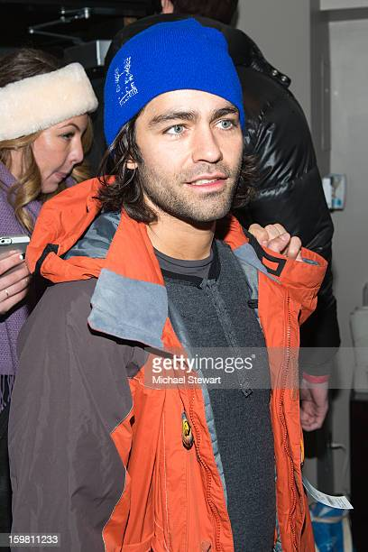 Actor Adrian Grenier attends Paige Hospitality Game Watch at Sky Bar on January 20 2013 in Park City Utah