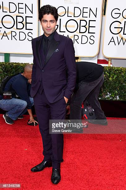 Actor Adrian Grenier attends the 72nd Annual Golden Globe Awards at The Beverly Hilton Hotel on January 11, 2015 in Beverly Hills, California.