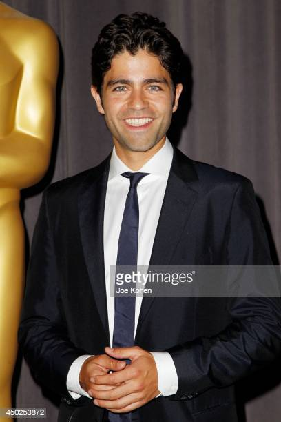 Actor Adrian Grenier attends the Academy Of Motion Picture Arts And Sciences' 41st Student Academy Awards at DGA Theater on June 7, 2014 in Los...