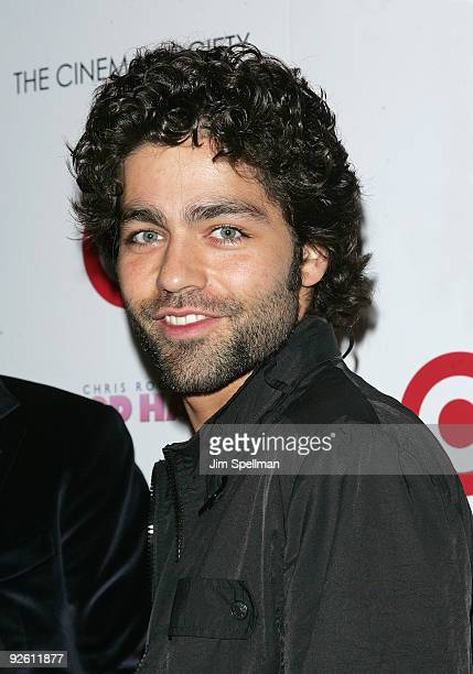 Actor Adrian Grenier attends The Cinema Society and Target screening of Good Hair at IFC Center on October 5 2009 in New York City